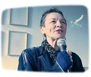 "Laurie Anderson reading ""Night Life"", new book of drawings / part 1/2"